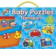 Baby puzzles Trasports